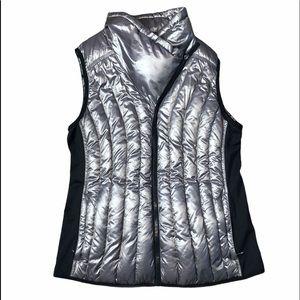 Calvin Klein Performance Silver & Black Vest -SZ L